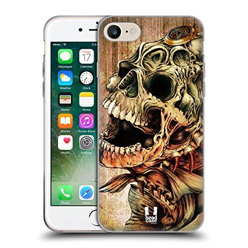 Head Case Designs Barattolo Di Sogni Barattoli Cover Morbida In Gel Per Apple iPhone 7 / iPhone 8 Piranha