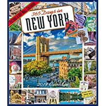 2019 365 Days in New York Picture-A-Day Wall Calendar [Idioma Inglés]