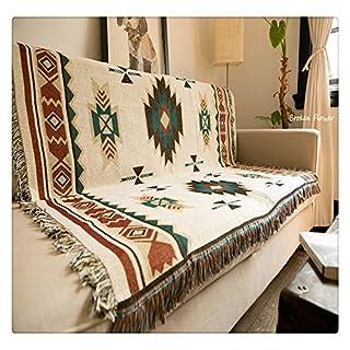 Peel Forest Aztec Bohemian 90X150cm Sofa Geometric Desgin tribal ethnic blanket rugs throw carpet american indian cotton