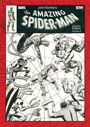 JOHN ROMITA AMAZING SPIDER-MAN ARTIST ED 02 HC