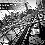 New York 2020, Wandkalender / Broschürenkalender im Hochformat (aufgeklappt 30x60 cm) - Geschenk-Kalender mit Monatskalendarium zum Eintragen