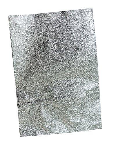 DDLBiz Foil Nail Wraps Remover avec du Coton, Pellicule de Solvant de Vernis à Ongles, Outils de Soins des Ongles, économies de Coûts, Opération Simple, Environnement et Santé, 100 Pcs (Slivery)