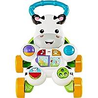 Fisher-Price Mon Trotteur Zèbre Parlant français pour apprendre à bébé à marcher, musique et activités d'éveil, emballage fermé, dès 6 mois, GXC30