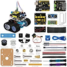 ViewTek KS0071 - Robot Mini Tank Kit Arduino / Evitación de obstáculos a ultrasonido - Tarjeta