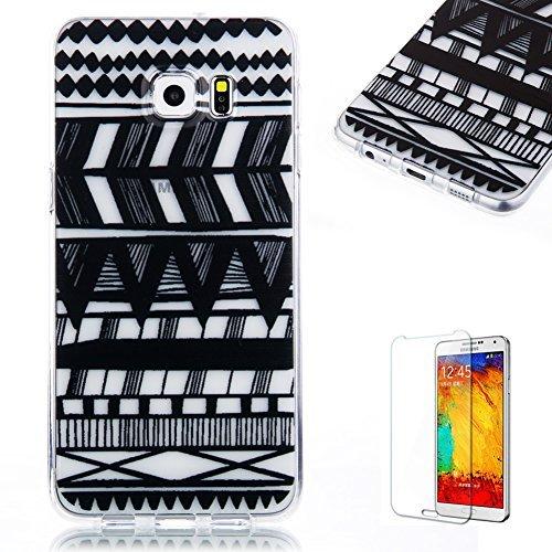 Samsung Galaxy S6 Edge Plus Funda [Regalo gratis protector de pantalla], Funyye...