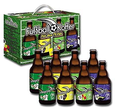 Bierundmehr Fußball Bier Geschenke Box mit 8 x 0.33l Pils, 8er Pack (8 x 0.33 l)