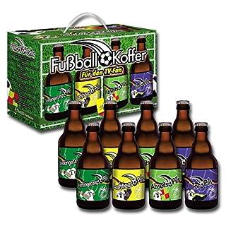 Bierundmehr Fußball Bier Geschenke Box (8 x 0.33 l)