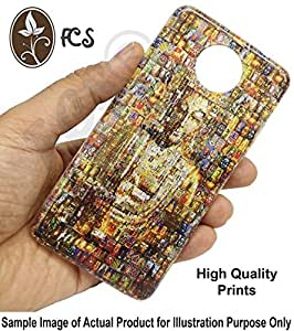 FCS Printed Soft Silicon Back Case for LYF Water 6 Pattern-64