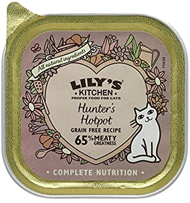 Lily's Kitchen Whisker Lickin' Chicken Complete Wet Food for Cats, 85 g, Pack of 19