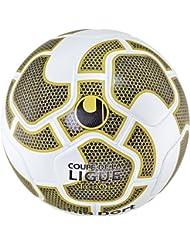 Balón Uhlsport Tenor oficial, color Blanco - Blanc/Or/Noir/Or, tamaño 5