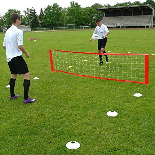 Fußballtennis-Anlage S, für 2 bis 6 Spieler, für Teamsportbedarf - Fußballtraining