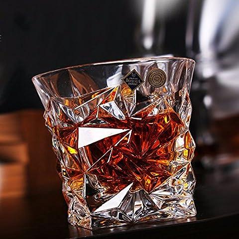 Beer Mug verre cristal Whiskey Wine Cup tasse de jus,un Créatif