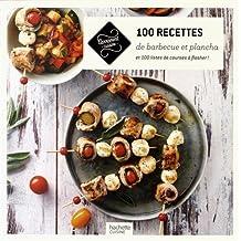 100 recettes barbecue et plancha: 100 listes de course à flasher !