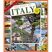 365 Days in Italy Picture-a-day 2018 Calendar