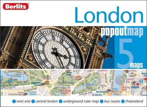 London Berlitz PopOut Map (Double Map) (Berlitz PopOut Maps) por Berlitz