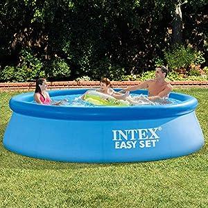 Intex 28120 Easy Cm 305X76 Piscina Gioco Estivo Estate Giocattolo 222, 3854 Litri, 305 x 76 cm