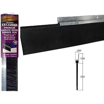STEIGNER Guarnizione per Porte da Garage in EPDM 2 m SGD01 14 mm x 78 mm