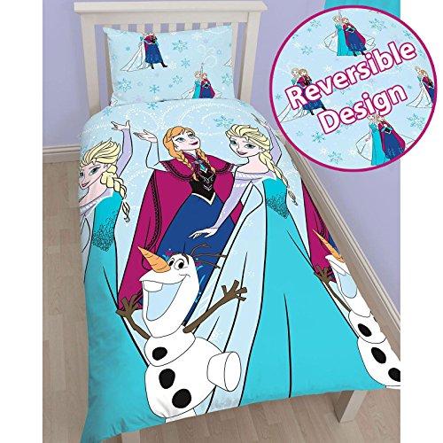 Disney Frozen Leuchten Single/US Twin Bettbezug Set–Rotary Design