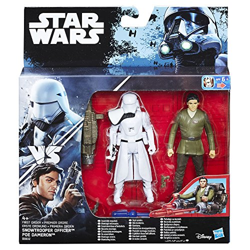 Star Wars Figure The Force Awakens PoE Dameron and First Order Snowtrooper