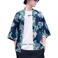 Kimono Cardigan Japan Haori Jacket per Uomo Donna Kimono Jacket Giovane Abiti da Festa Casual Hawaiian Style Men Fashion