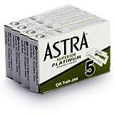 Rusty Bob - Astra scheermesjes platina classic voor de klassieke scheermes, nat scheermes [gesloten kam] - 20 scheermesjes in