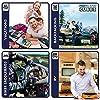 Pro Packing Cubes, Organizer per valigie Unisex adulti Blu Marine Blue Set da 6 pezzi