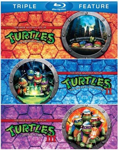 Teenage Mutant Ninja Turtles / Teenage Mutant Ninja Turtles II: The Secret of the Ooze / Teenage Mutant Ninja Turtles III: Turtles in Time (Triple Feature) [Blu-ray] by Judith Hoag (Teenage Mutant Ninja Turtles 3)