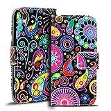 Verco Handyhülle Xperia M4 Aqua Muster, Motiv Hülle Sony Xperia M4 Aqua Book Case Flip Cover - Design 4