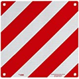 Fiamma Warning Sign Italy with Approval Aluminium with Eyelets 50 x 50 cm Reflective for Motorhome and Caravans