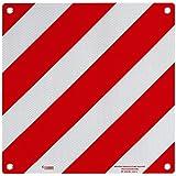 Advertencia Italia con Autorización aluminio con ojales 50x 50cm reflectante para caravana y caravana