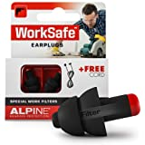 Alpine WorkSafe Bouchons d'oreilles : protections auditives pour le bricolage, le jardinage, le travail en open space et en s