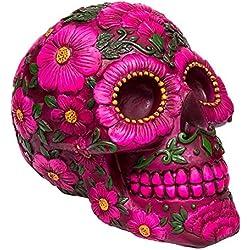 Nemesis Now Sugar Skull Blossom (Multicolor)