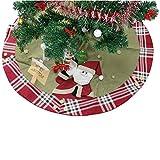 Labellevie 120 cm Baumdecke Weihnachtsbaum Decke Weihnachtstannen Christbaumständer Christbaum Decke