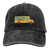 bikini bag School Bus Denim Hat Adjustable Men Casual Baseball Hats