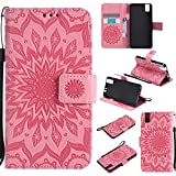 COZY HUT For Huawei ShotX/Honor 7i Case [Pink], PU Leather