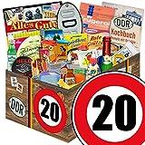 Geschenkkorb | 24x Allerlei | Zahl 20 | DDR Box Mama