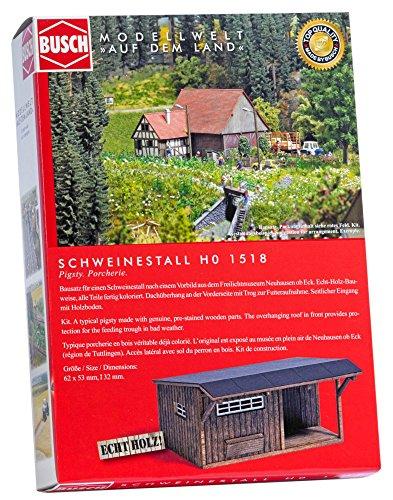 Busch 1518-schweinestall, Vehículo