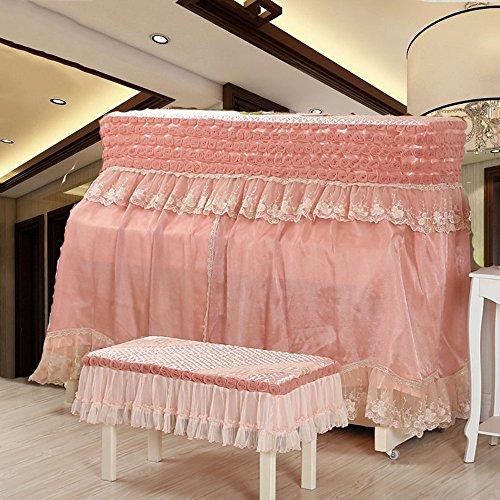 Spitzendruck Tuch Staubdicht Klavierbezug (zweiteilig) ( Color : B )
