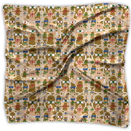 n-Weihnachtsfrauenquadrat-Schal-Kopfschmuck-Mehrzweckmode-Schals ()
