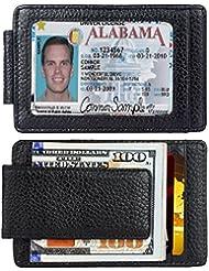 RFID Portefeuille RFID Blocage Sécurisé Cuir Portefeuilles Protecteur de Carte de Crédit
