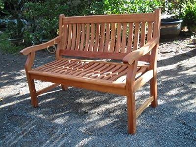 Gartenbank NEW JERSEY, 4-Sitzer, Holzbank aus Hartholz 188 cm von Seedex bei Gartenmöbel von Du und Dein Garten