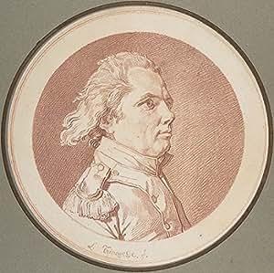 Louis Roland Trinquesse – Portrait of François Reidy de Lagrange Impression d'art Print (45,72 x 60,96 cm)