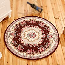 Alfombra redonda alfombra alfombra alfombra alfombra alfombra de diámetro 90cm lavable alfombra redonda alfombra ( Color : 2# )