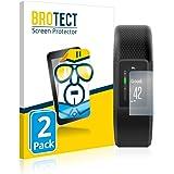 BROTECT 2x Schermbeschermer compatibel met Garmin Vivosport Screen protector transparant