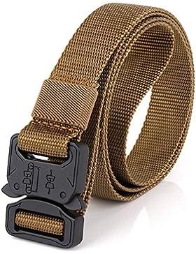 Cinturón trenzado elástico bandera de España, presentado en bolsa exterior de tela granate