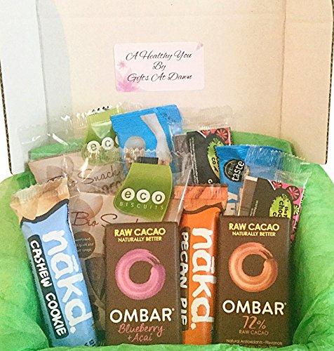 Healthy Chocolate Snacks Gift Box #4 - Vegan Fairtrade Gifts At Dawn