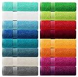 Lashuma Handtuch - Frotteeserie Linz - in 16 Farben und 6 Größen