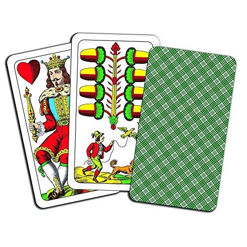 "Piatnik 1839 - Kartenspiel \""Riesenjasskarten\"", 36 Blatt"