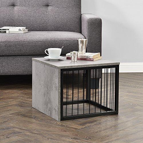 en.casa] Tavolino da salotto - comodino, comodino da letto di design ...