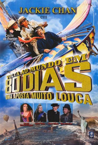 Around the World in 80 Days Plakat Movie Poster (25 x 37 Inches - 64cm x 94cm) (2004) Brazilian